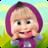 icon com.indigokids.mim(Masha and the Bear Child Games) 2.7.4