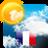 icon com.idmobile.francemeteo(Weer voor Frankrijk en de wereld) 3.3.2.15g