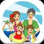 icon Kids&Parents Travel&Rest (Reizen voor kinderen en ouders)