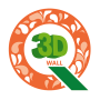 icon Q 벽지 시뮬레이션 (3D 인테리어) (Q Behangsimulatie (3D-interieur))