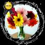 icon Vase for flower (Vaas voor bloem)