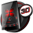 icon Soft Touch Red Theme(Soft Touch Red-thema voor Next Launcher) 12.0.3