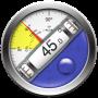 icon Clinometer + bubble level (Clinometer + bellenniveau)