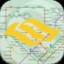 icon SG MRT Map(MRT-kaart van Singapore)