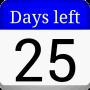 icon Days left widget(Dagen over (afteltimer))