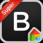 icon BlackLabel LINE Launcher theme (BlackLabel LINE Launcher-thema)