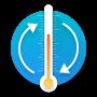 icon Temperature Metric Converter (Temperatuur metrische omzetter)