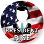 icon Become President. (Word president.)