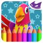 icon Cockatoo: 3D Coloring book (Kaketoe: 3D-kleurboek)