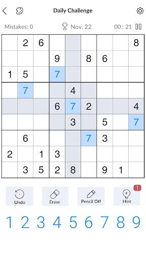 Sudoku - Gratis klassieke Sudoku-puzzels