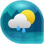 icon Weather & Clock Widget for Android (Air Forecast) (Weather Clock Widget voor Android (luchtverwachting))