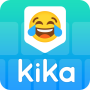 icon Kika Keyboard - Emoji, Emoticon, GIF,Sticker,Theme (Kika-toetsenbord - Emoji, Emoticon, GIF, Sticker, Thema)