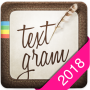 icon Textgram - write on photos (Textgram - schrijf op fotos)