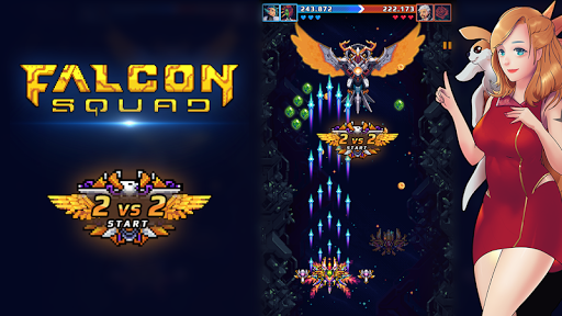 Falcon Squad - beschermers van de Melkweg