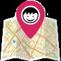 icon Find My Friends (Vind mijn vrienden)
