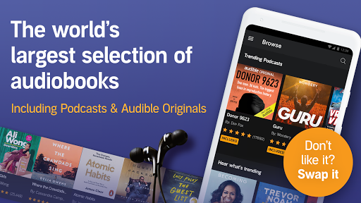 Audioboeken van Audible