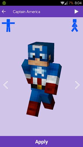 Skins voor Minecraft: MineSkins
