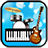 icon Band Game(Bandspel: piano, gitaar, drum) 1.46
