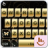 icon Gold Butterfly(Gouden vlinder toetsenbord thema) 6.7.12.2018